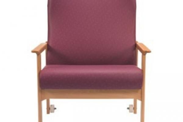 Healthcare chair extra wide