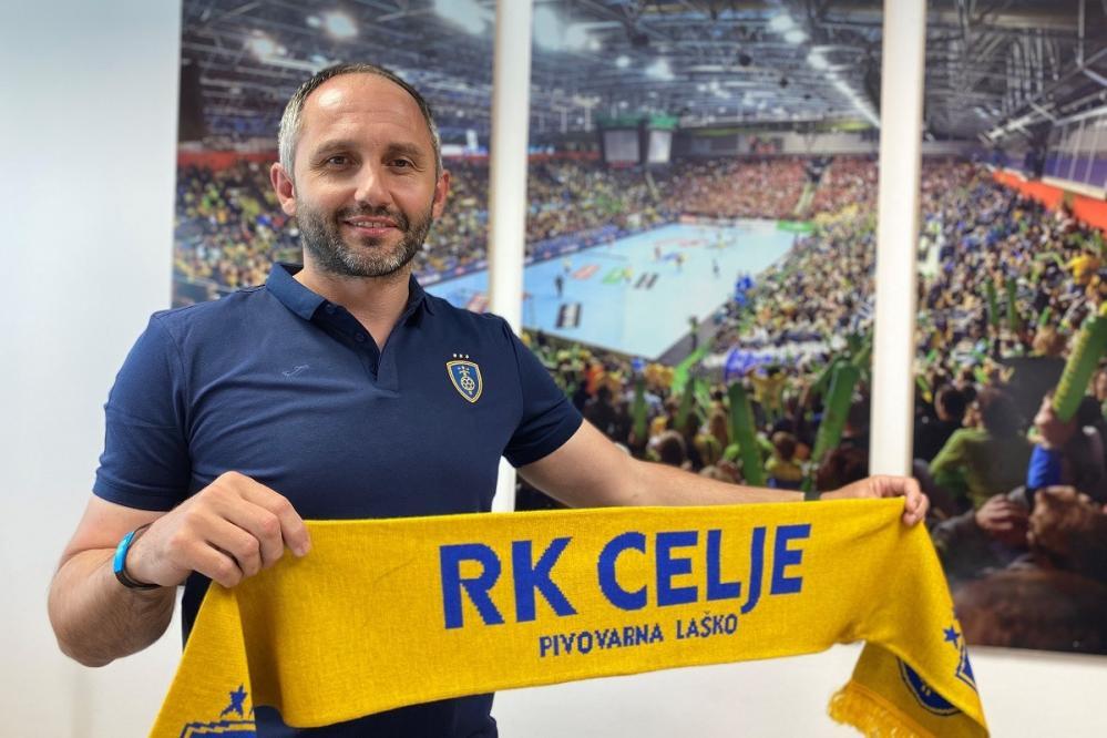 Alem Toskić bo v Celju vsaj štiri sezone. (Foto: RK Celje)