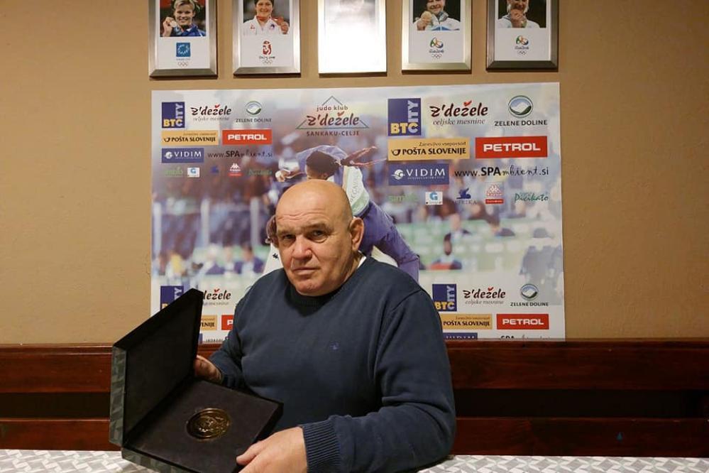 Marjan Fabjan je najuspešnejši slovenski trener juda. (Foto: Judo klub Z` dežele Sankaku)