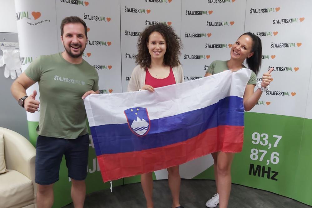 Drugo jutranjo kavo je tokrat z nami popila paraolimpijka, odbojkarica sede Lena Gabršček.